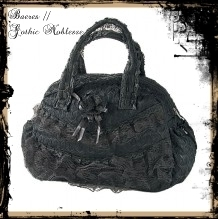"Gothic Spitzen Tasche ""Big Lace Love"""